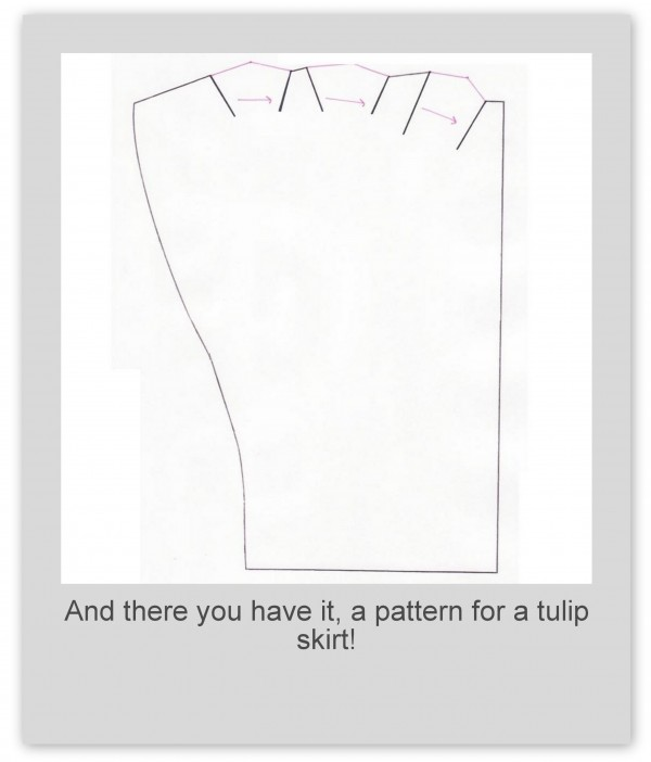 gift presents for summer: make a tulip skirt pattern