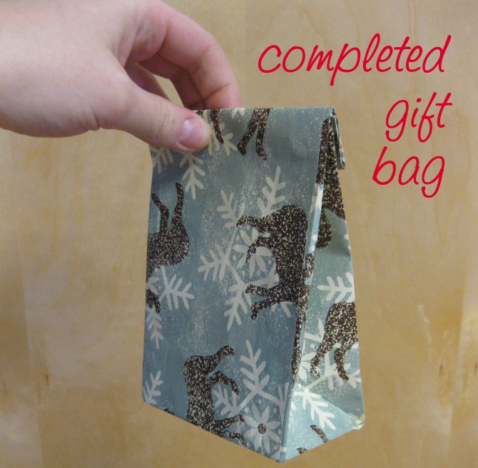 How To Make A Bag With Wrapping Paper - My Bag Collections