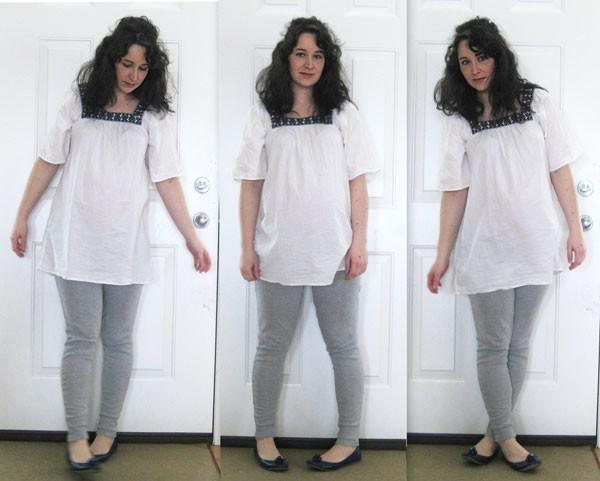DIY leggings from track pants