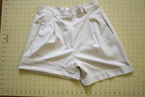 Scallop Hem Shorts Scallop Hem Project