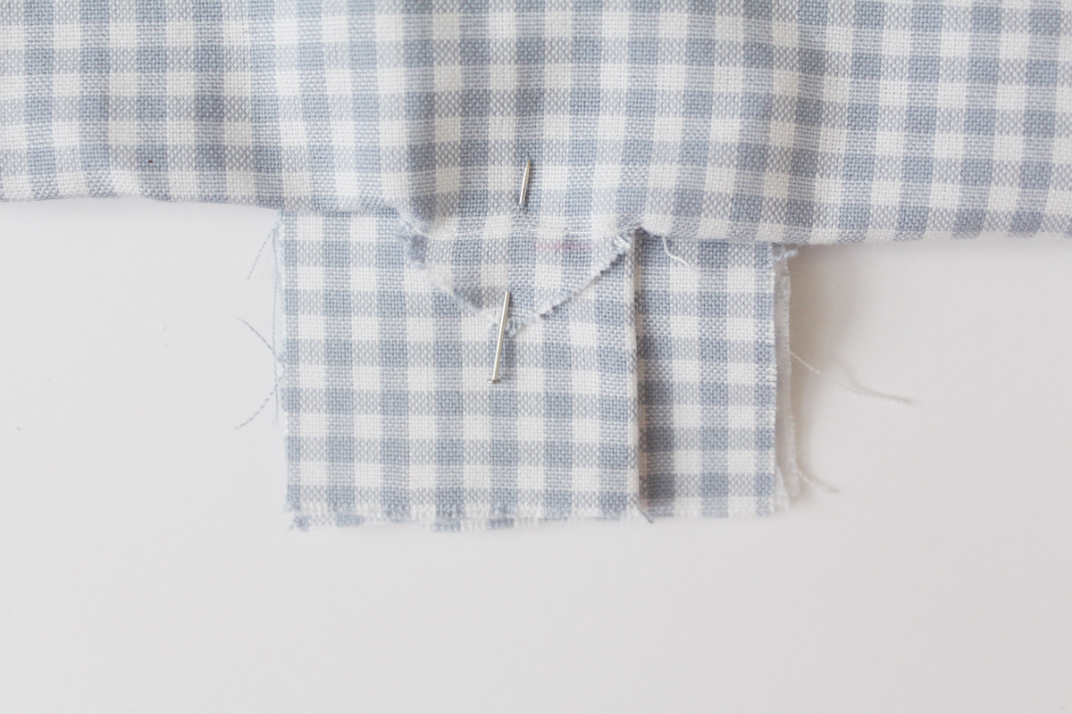 how to sew the placket on the Banksia Blouse, and easier method // tutorial on Megan Nielsen Design Diary