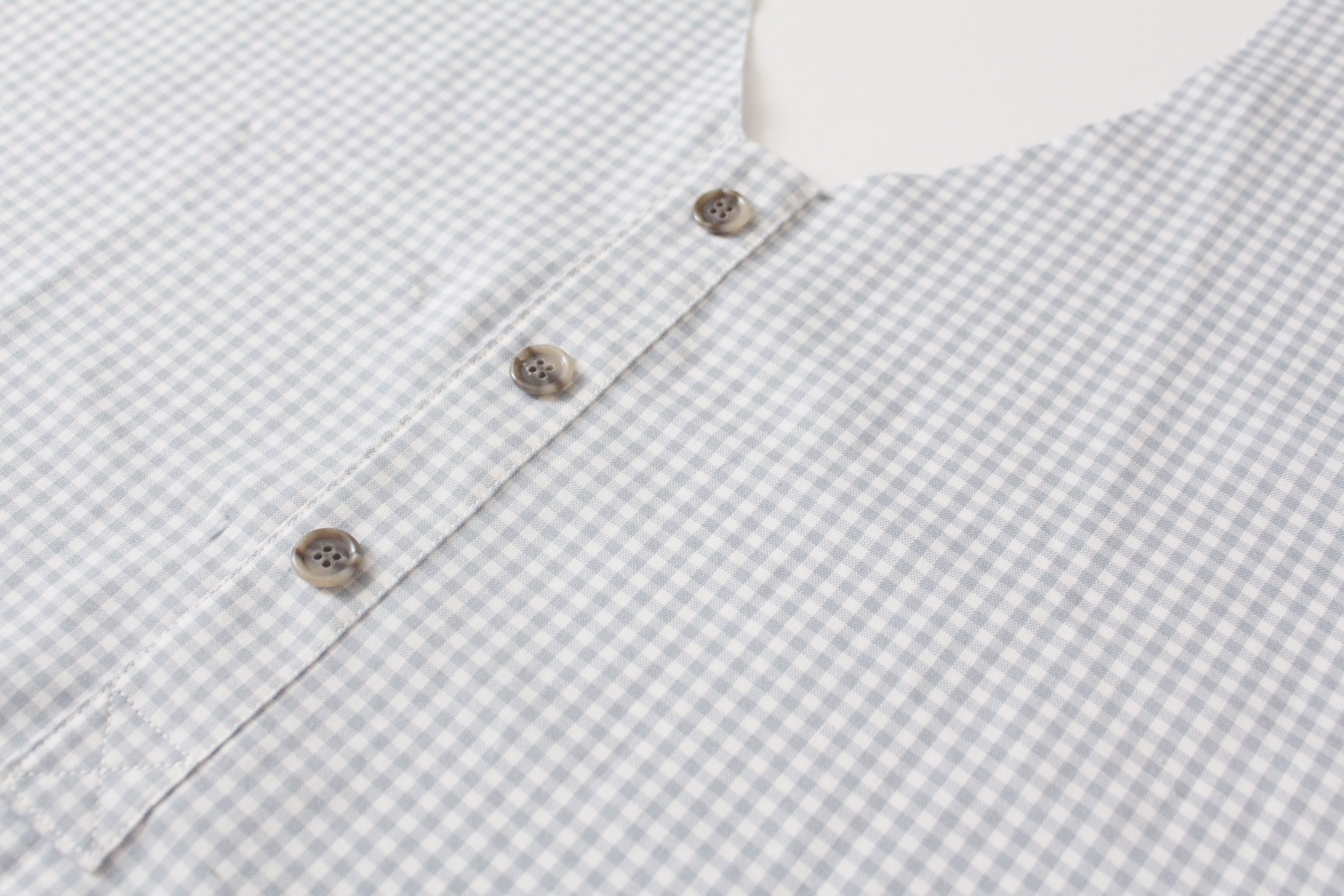 how to sew a faux placket Banksia Blouse // tutorial on Megan Nielsen Design Diary