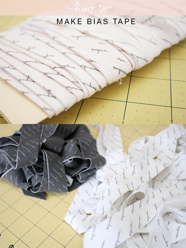 How to make Bias tape // Megan Nielsen Design Diary // @megan_nielsen