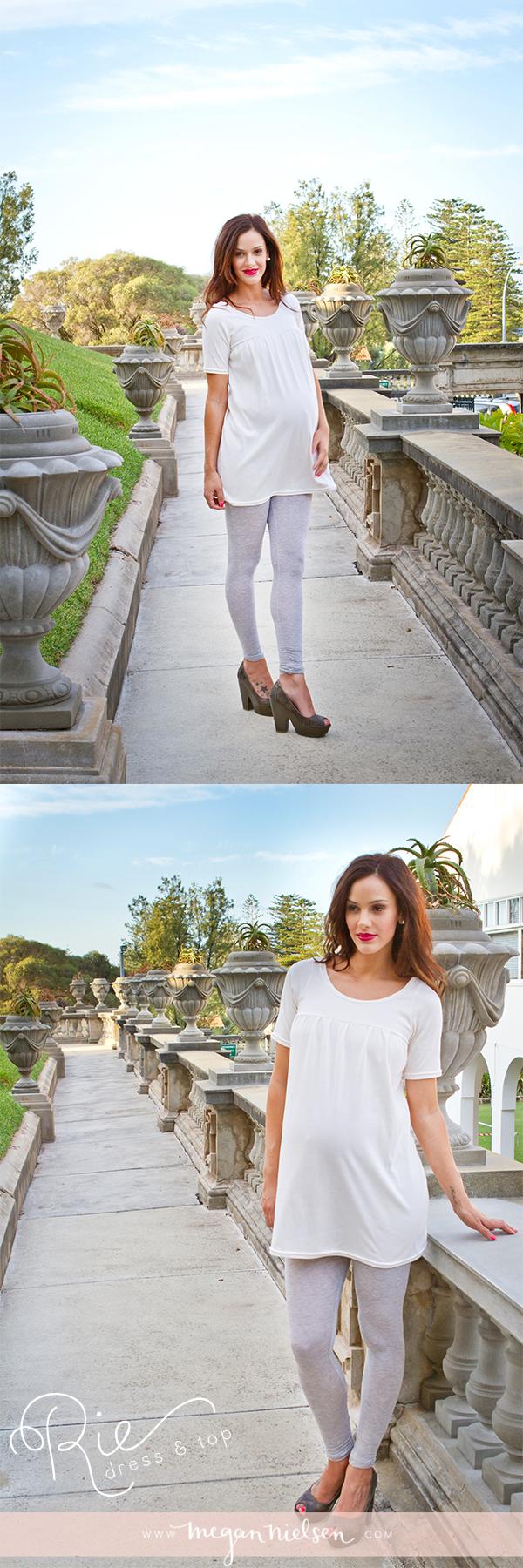 Megan Nielsen Rie dress & top sewing pattern MN1005 // @megan_nielsen