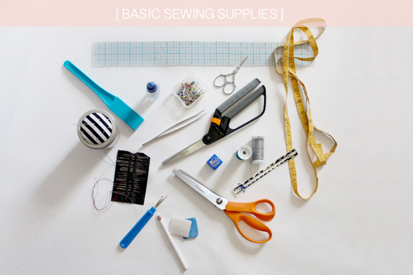 Sewing supplies list of basic
