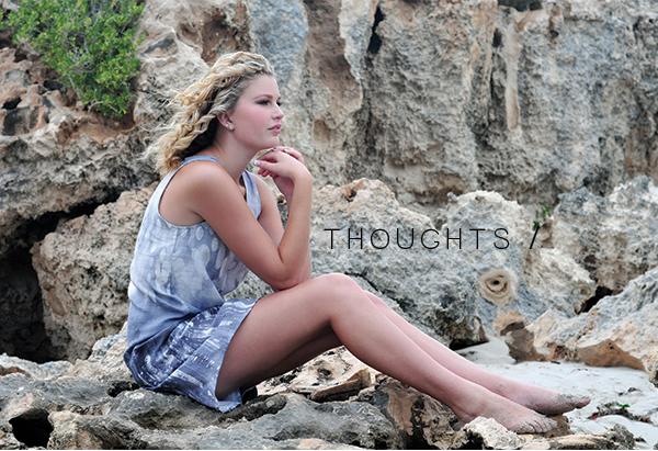 Megan Nielsen Eucalypt woven tank & dress // Thoughts
