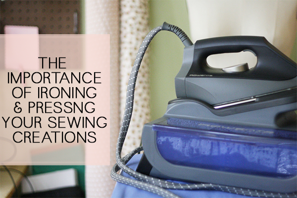 importance of ironing