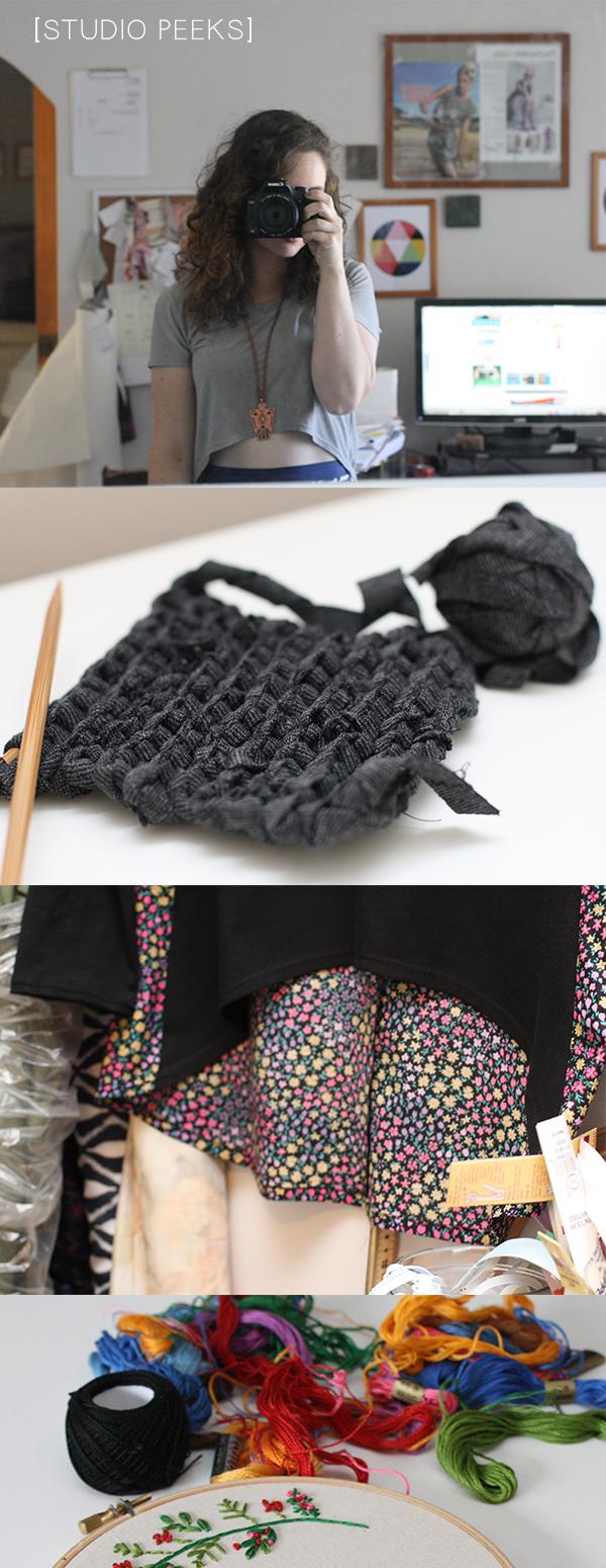 Studio peeks // Megan Nielsen Design Diary