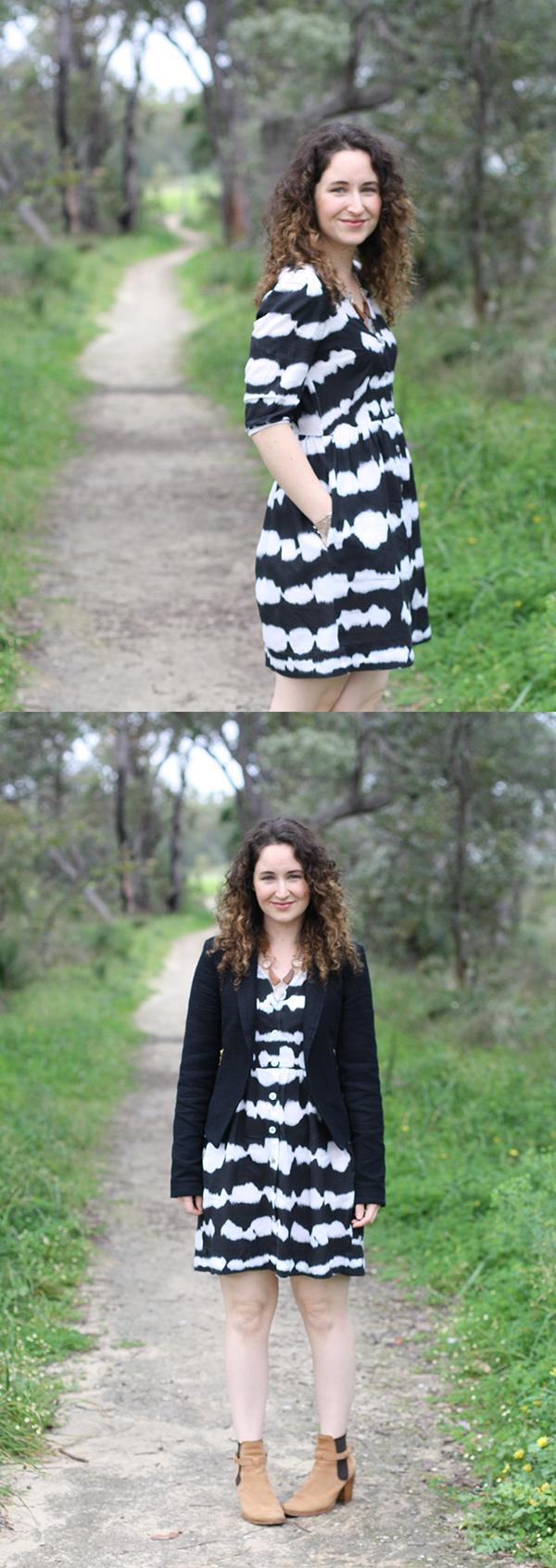 inked darling // Megan Nielsen Design Diary