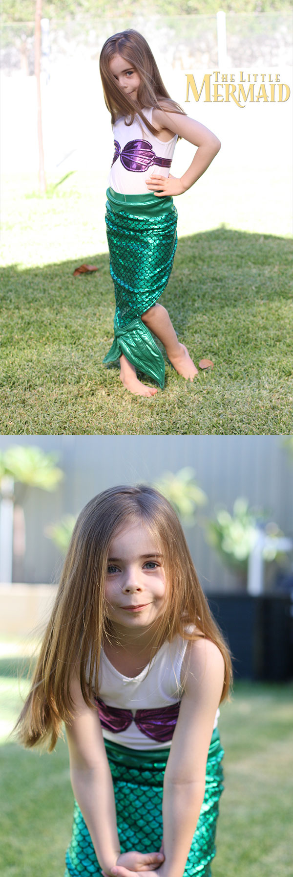 Megan Nielsen Design Diary // The Little Mermaid Costume