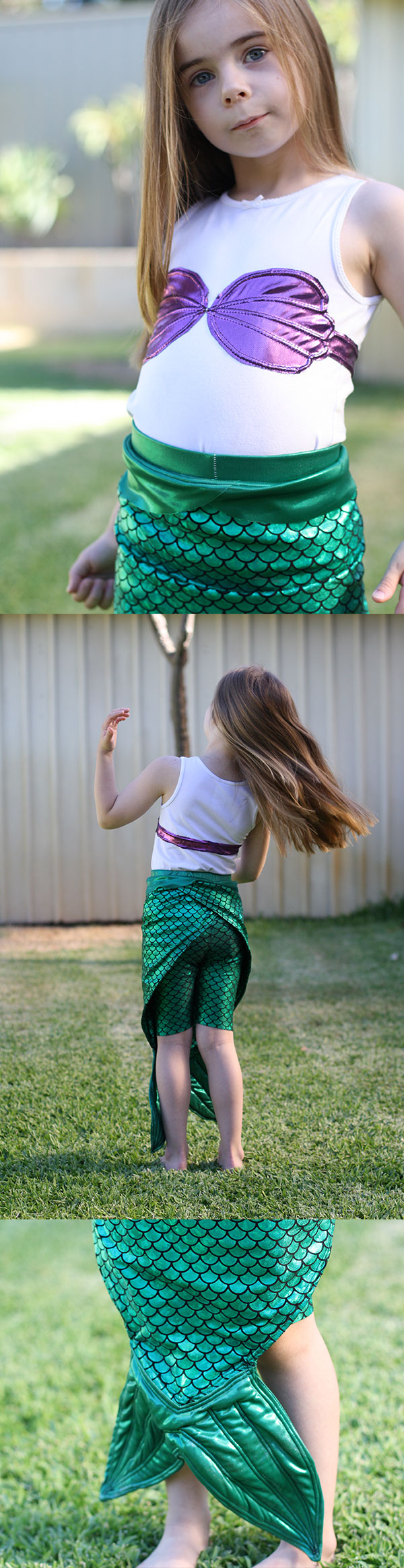 Megan Nielsen Design Diary // The Little Mermaid Costume!