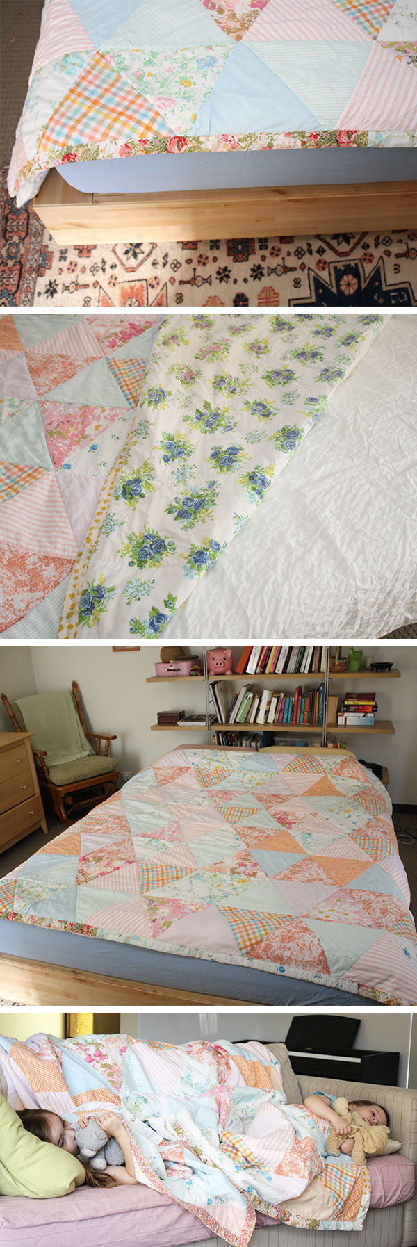 collection scrap quilt //1