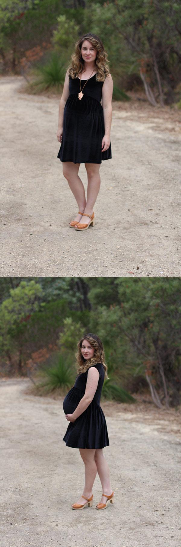 Megan Nielsen maternity style