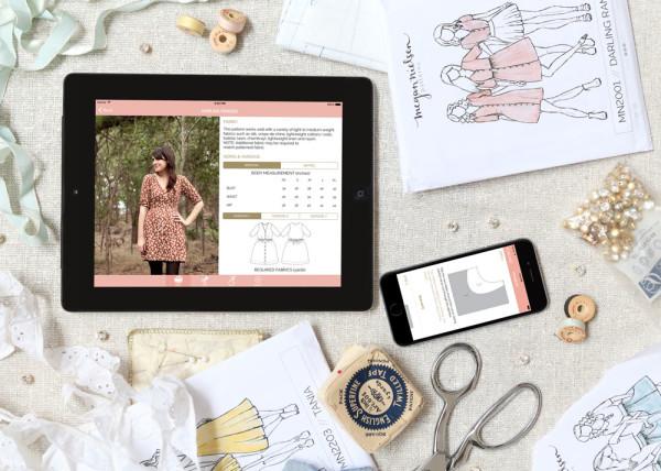 The Megan Nielsen Patterns App