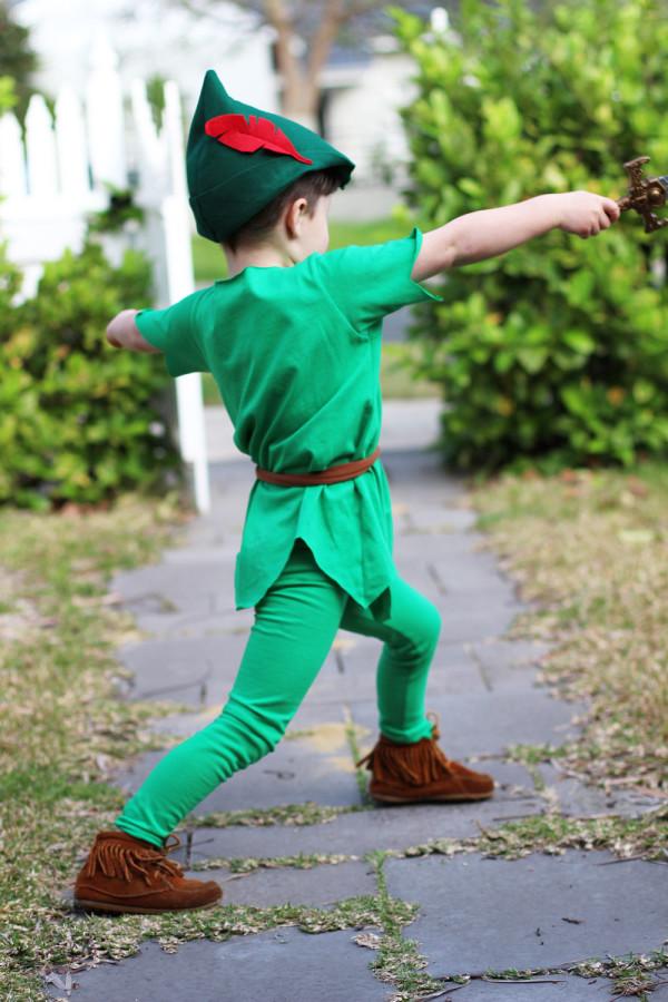 Peter Pan costume // Megan Nielsen Design Diary