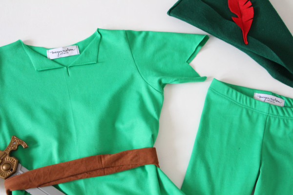 THE PETER PAN COSTUME — megan nielsen design diary