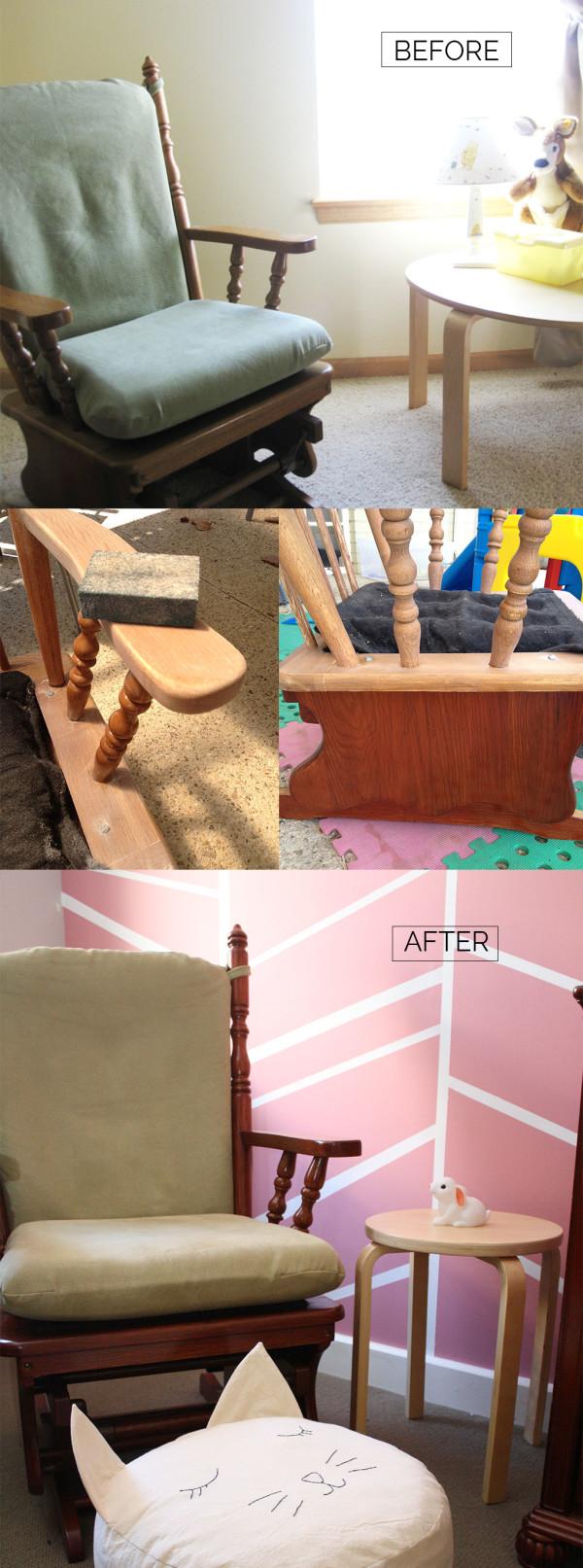 Birdie's DIY nursery // Megan Nielsen Design Diary