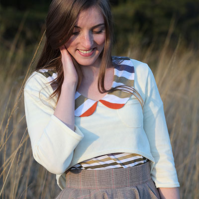 Megan Nielsen Briar sweater and tee sewing pattern