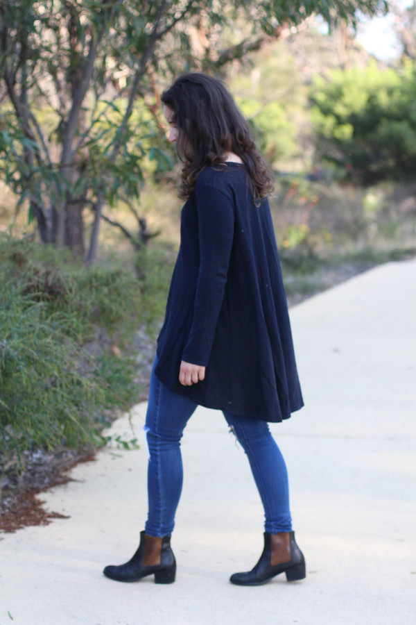 How to make a swing back Briar sweater or tee // Megan Nielsen Patterns