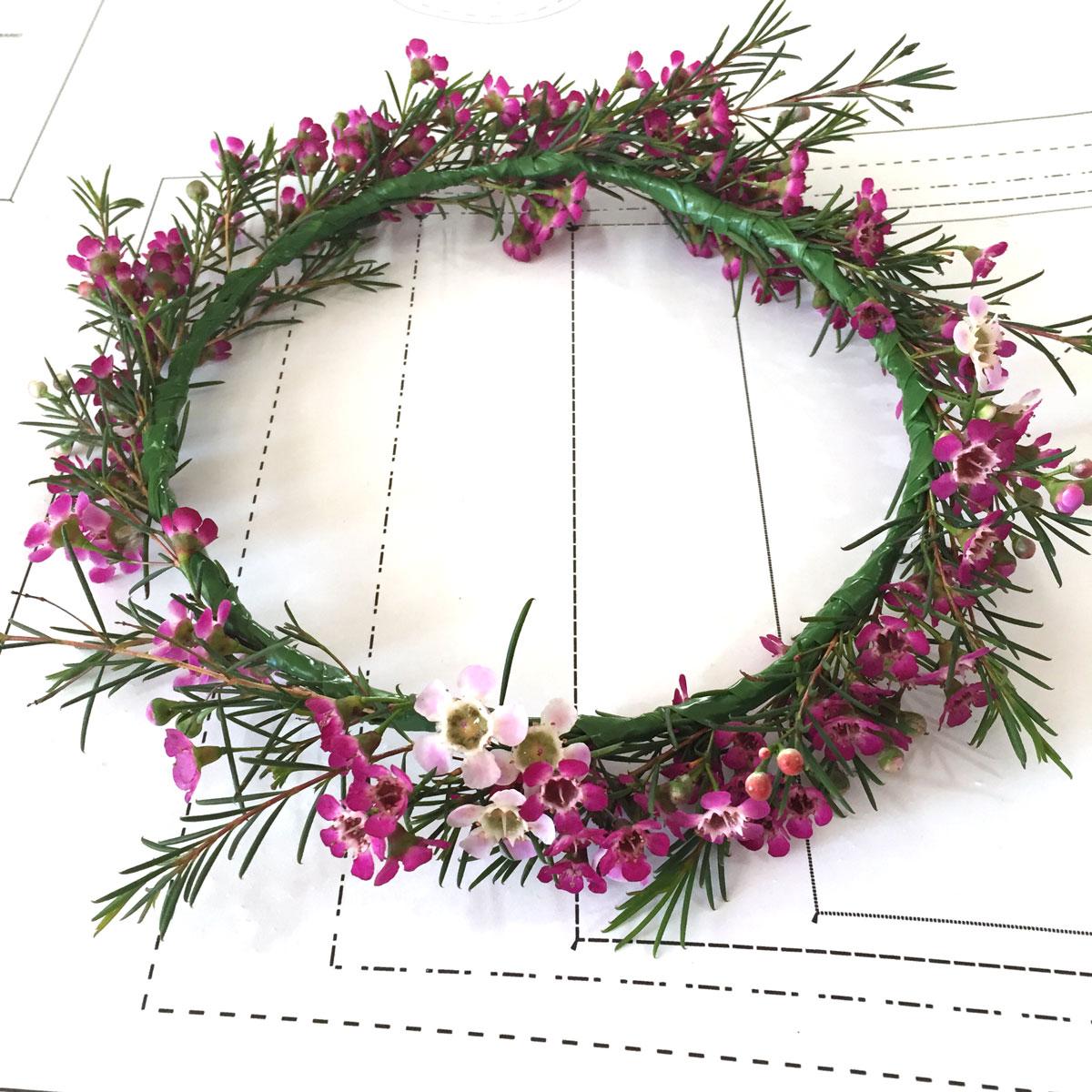 How To Make A Flower Crown Video Tutorial Megan Nielsen