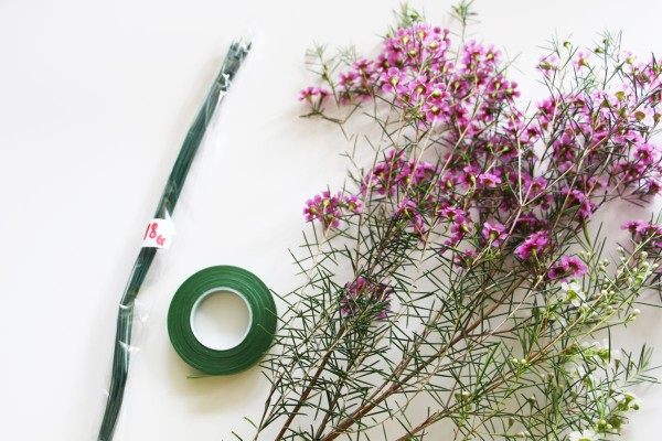 How to make a flower crown // video tutorial // Megan Nielsen patterns