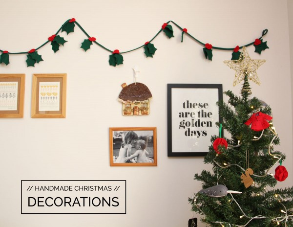 handmade christmas decorations