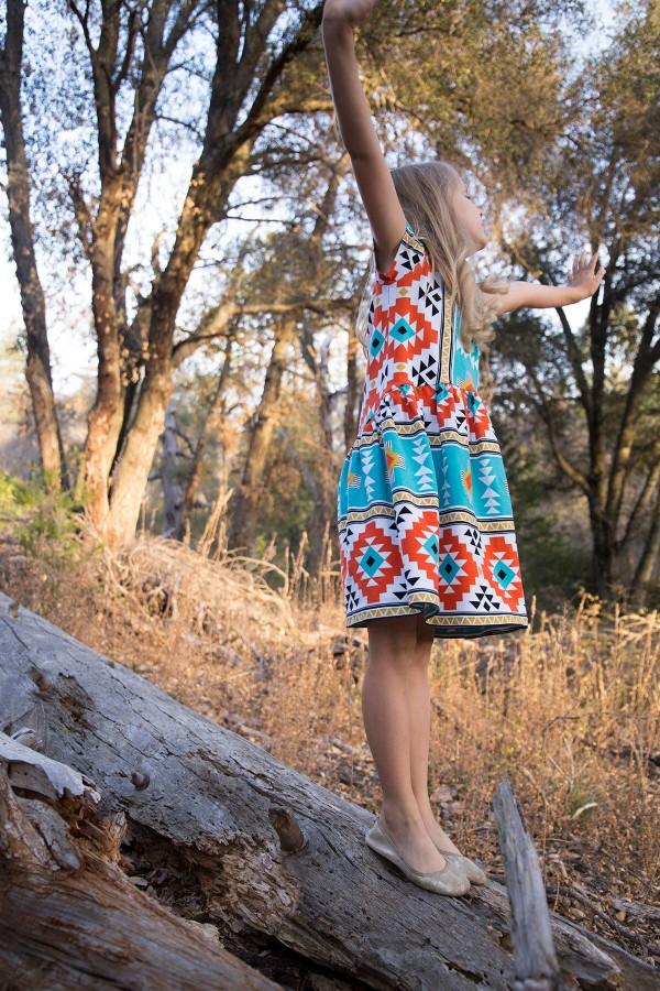 TUTORIAL // Mini Briar dress hack on Megan Nielsen Design Diary