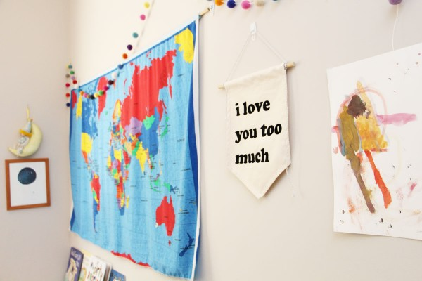 I love you too much banner
