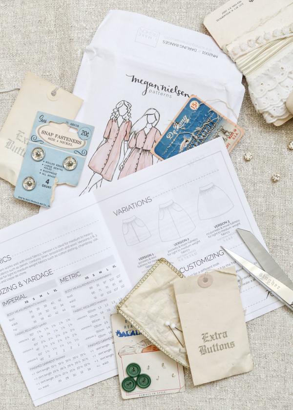 Megan Nielsen Patterns plus sizing survey