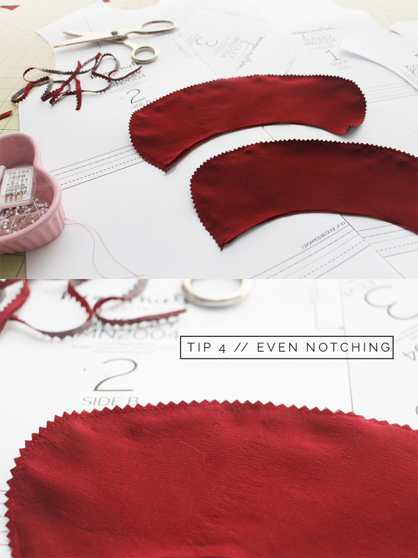 How to sew a perfect rounded collar // Tutorial by Megan Nielsen