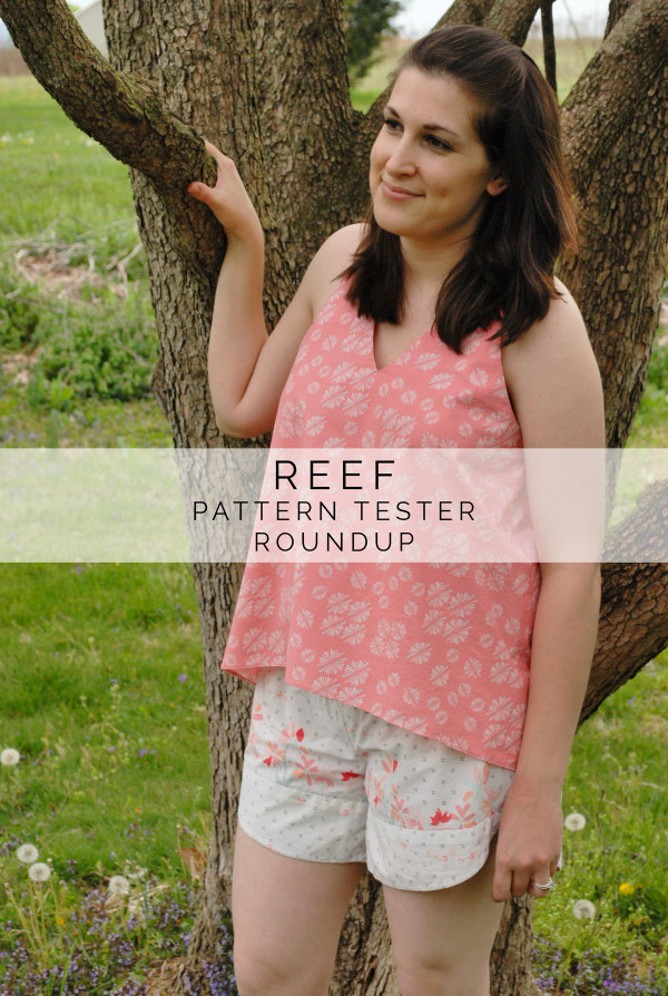 Megan Nielsen Reef pattern tester creations