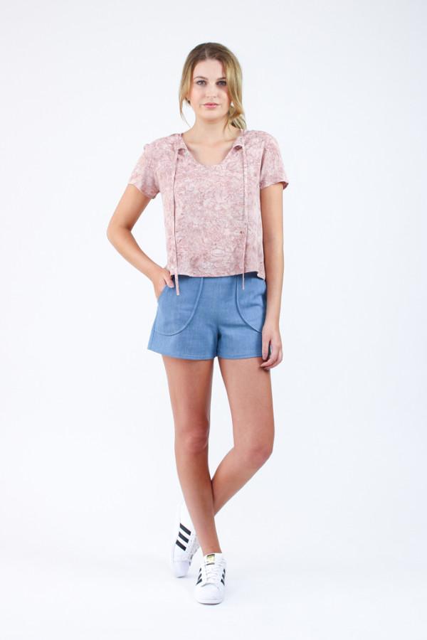 Megan Nielsen Harper shorts sewing pattern