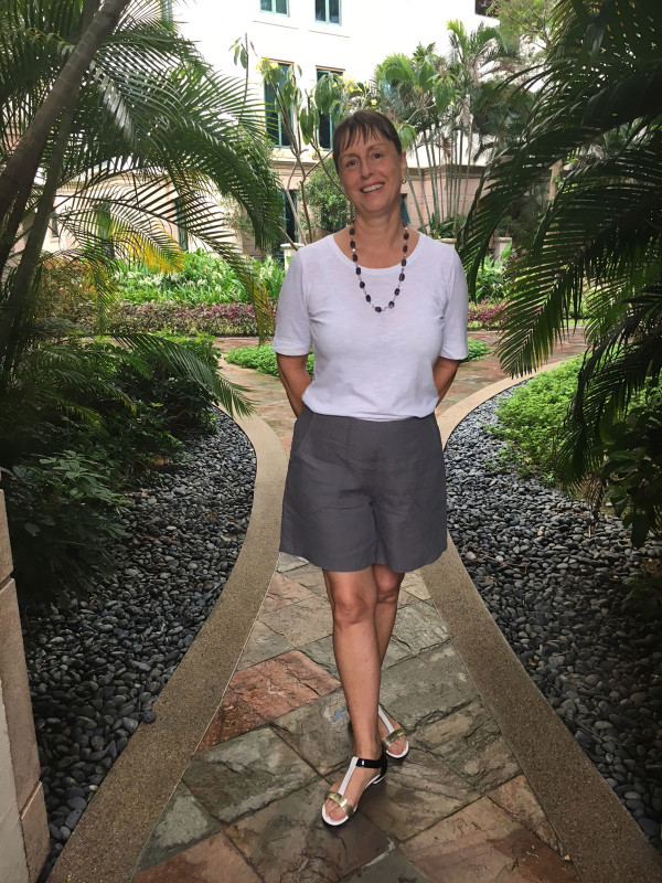 Megan Nielsen Harper shorts and skort sewing pattern tester roundup!