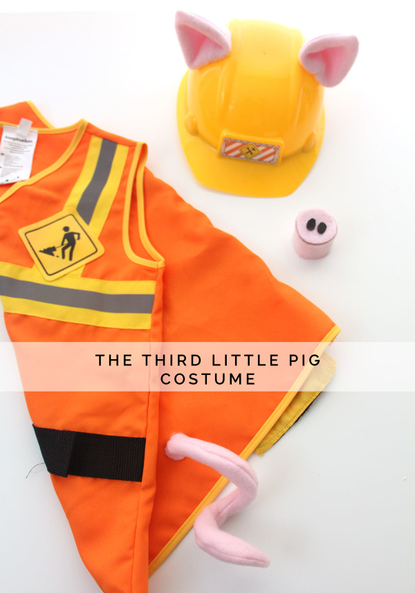 The Third Little Pig costume // Megan Nielsen Design Diary