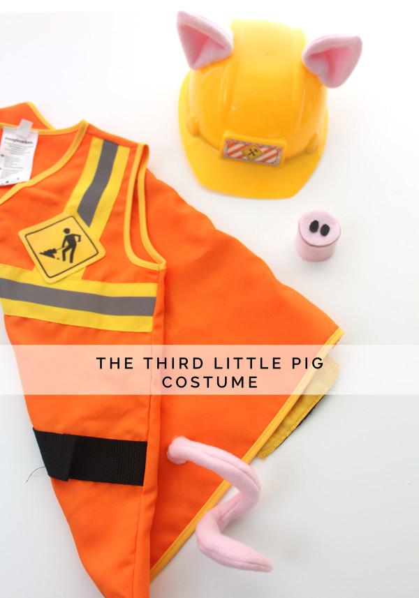 The Third Little Pig costume // Megan Nielsen Design Diary