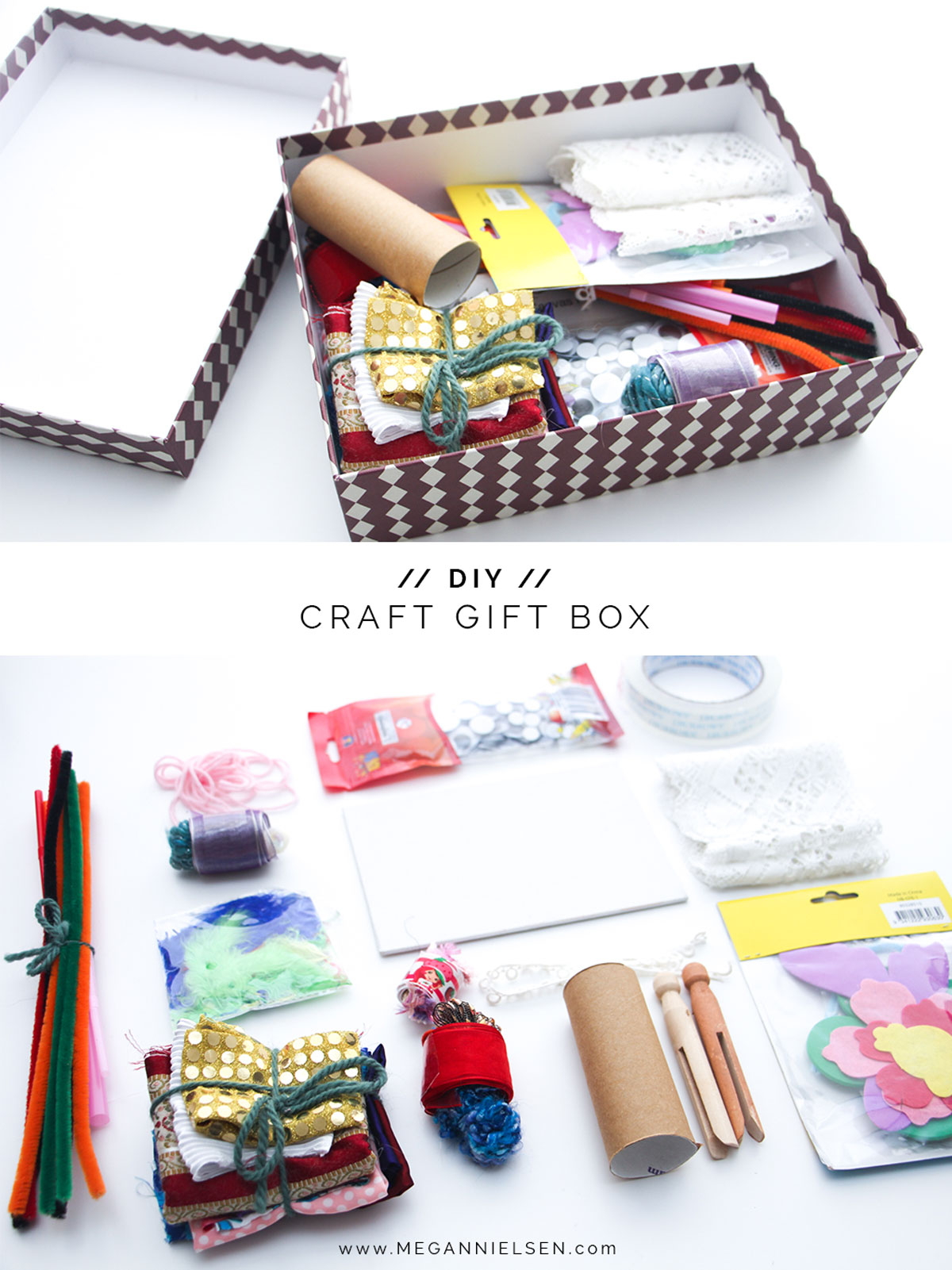 An amazing DIY craft gift box — megan nielsen design diary