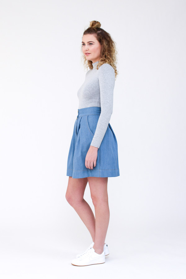 Megan Nielsen Kelly skirt sewing pattern
