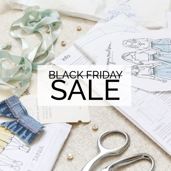 Megan Nielsen Patterns Black Friday Sale 2016 - 30% off everything in store!!