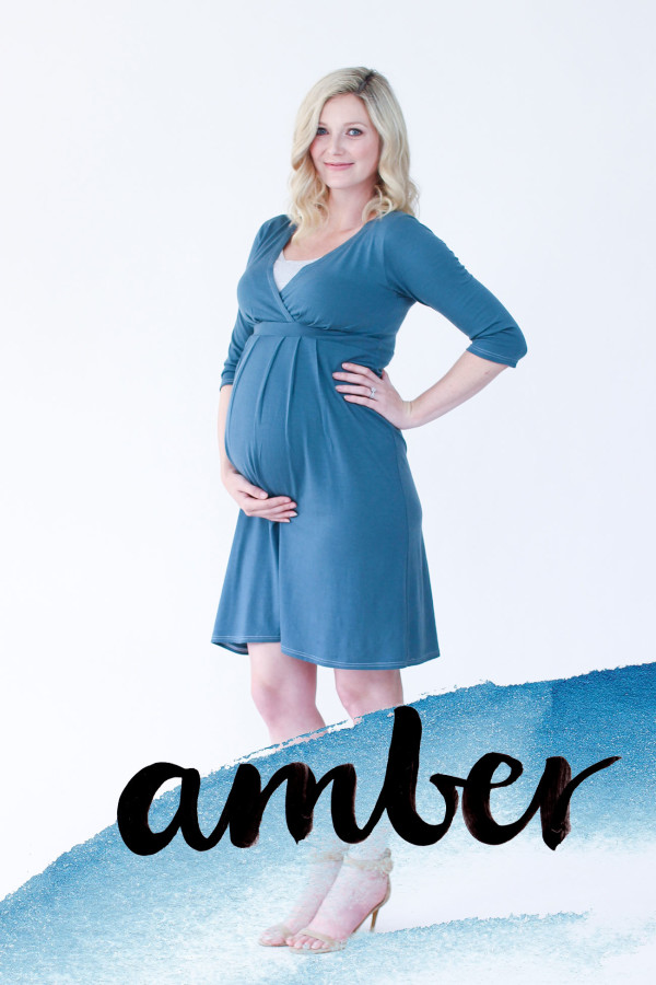 Megan Nielsen Amber maternity and nursing dress sewing pattern