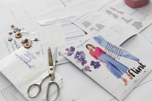 Beautiful modern sewing patterns by Megan Nielsen