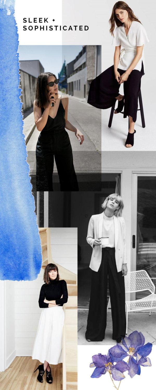 Megan Nielsen Flint wide leg cropped pants and shorts sewing pattern // IDEAS + INSPIRATION