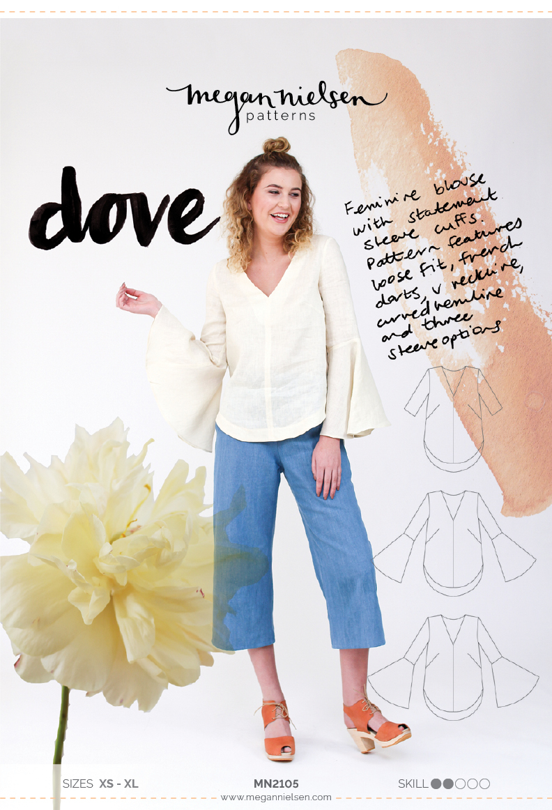 Megan Nielsen Dove sewing pattern
