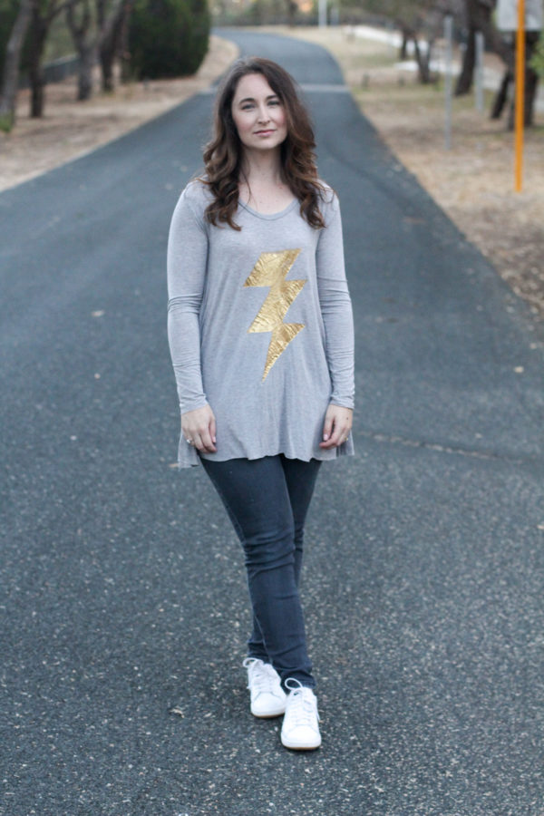 Megan Nielsen lightning tee