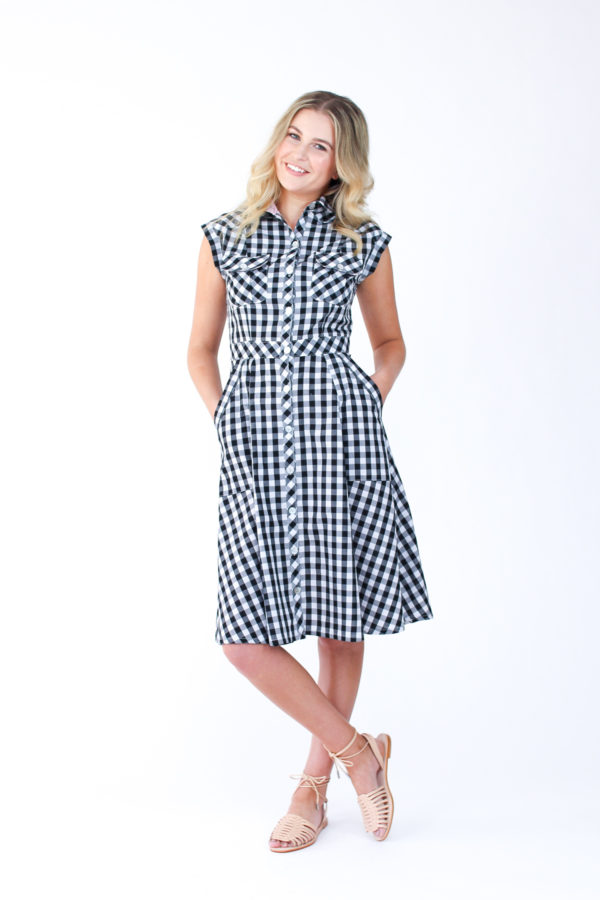 Introducing Matilda, the ultimate shirt dress sewing pattern // Megan Nielsen Design Diary