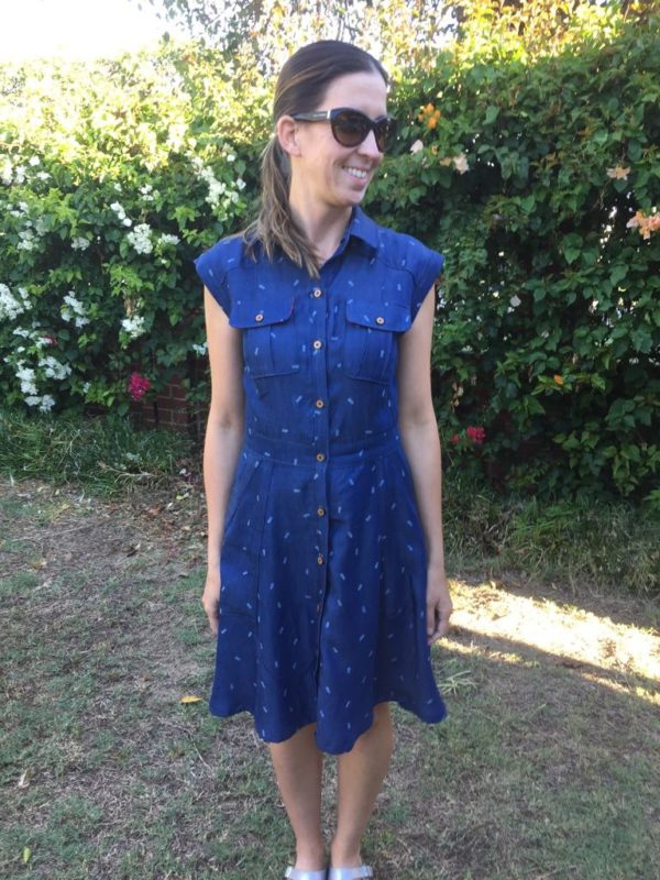 Megan Nielsen Matilda dress sewing pattern // pattern tester roundup!