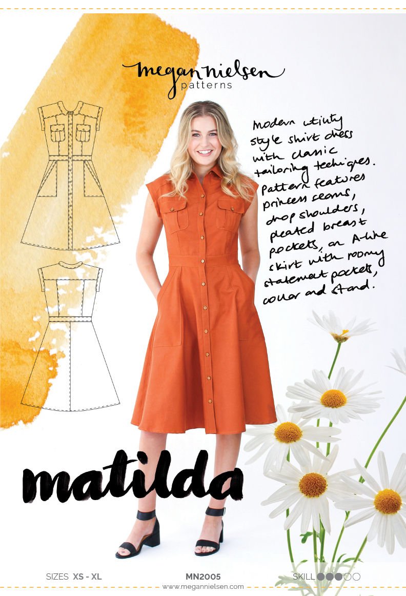 Megan Nielsen Matilda sewing pattern