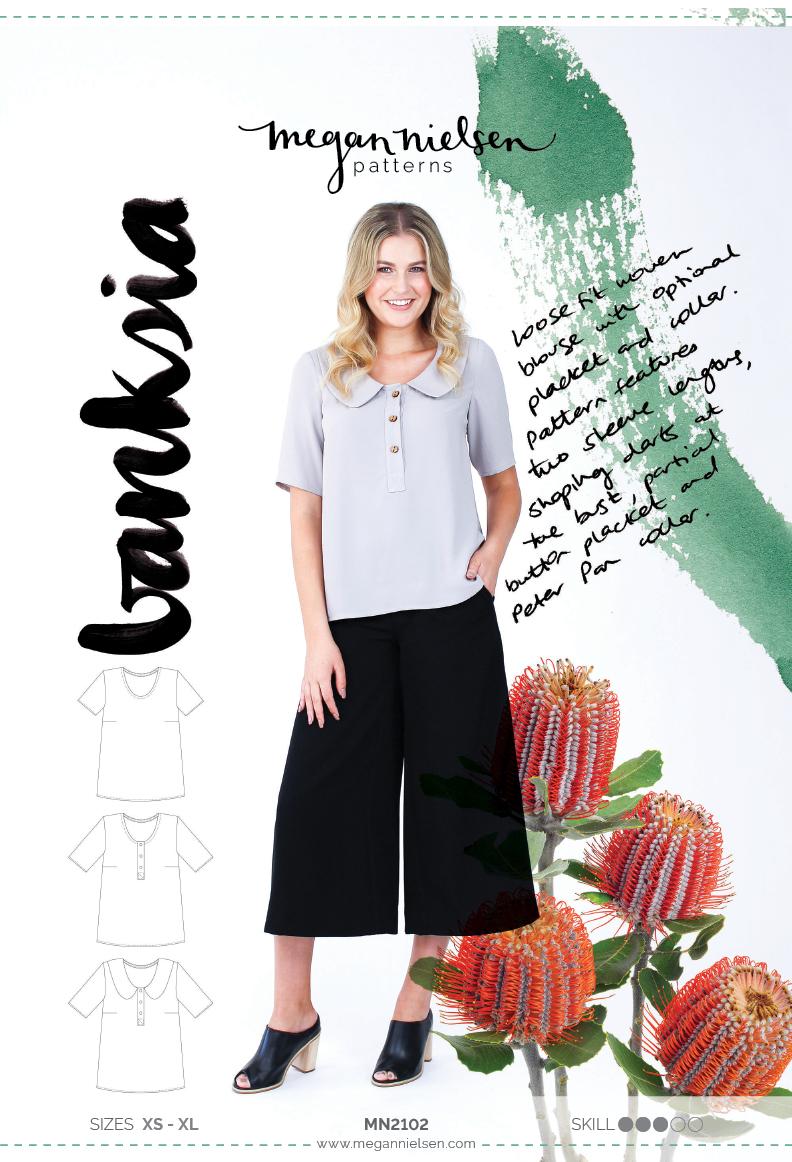 Megan Nielsen Banksia blouse sewing pattern