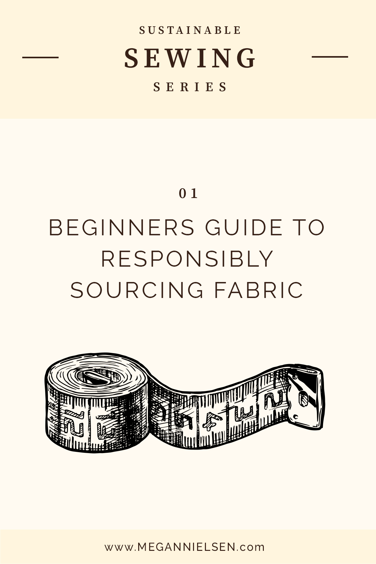 The Beginners Guide to Responsibly Sourcing Fabric // Sustainable sewing series on Megan Nielsen Design Diary
