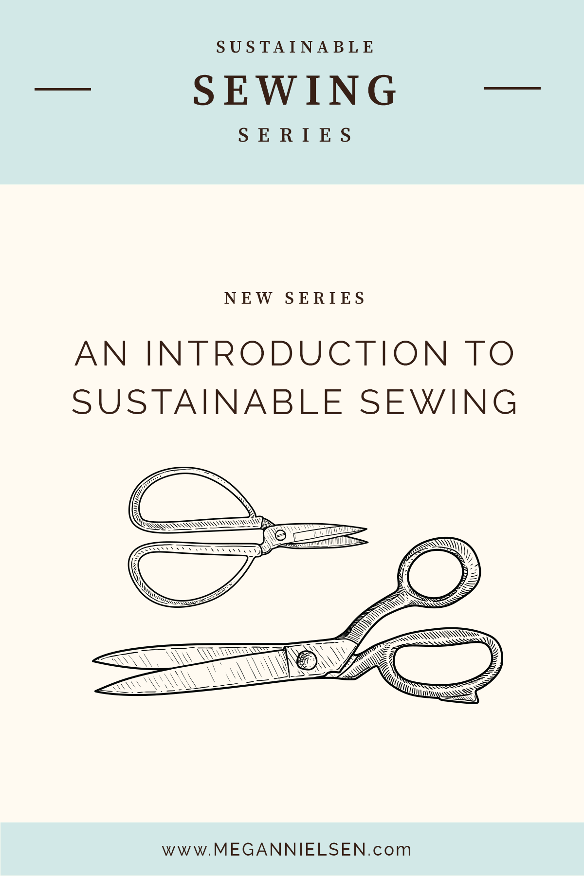 Sustainable sewing series on Megan Nielsen Design Diary