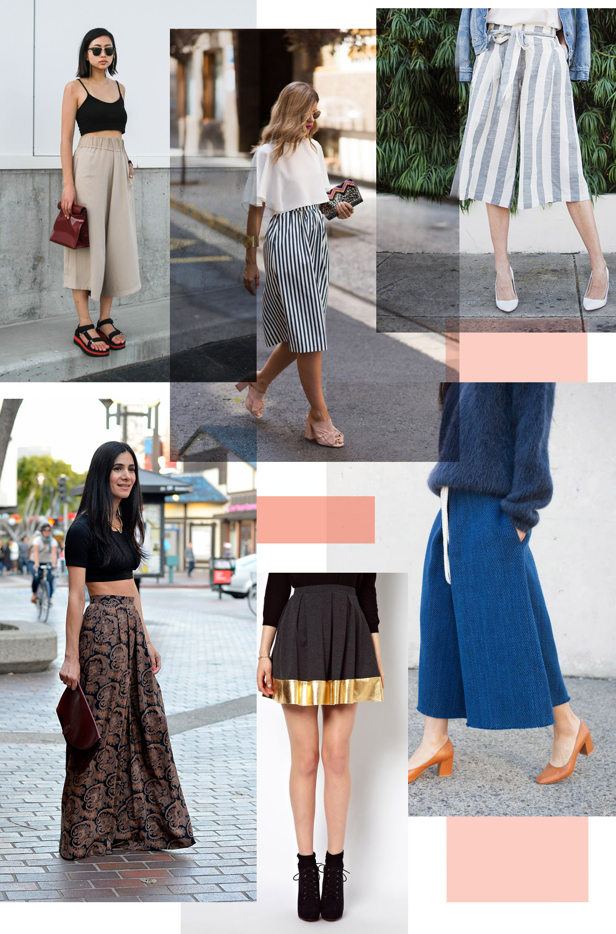 inspiration and ideas for the Tania Culottes by Megan Nielsen Patterns